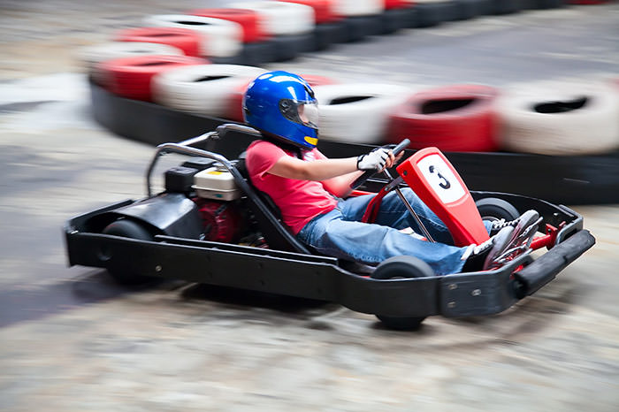 Go-karts in Wackersdorf